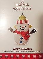 2017年ホールマーク記念品Sweet雪だるまLimited Editionクリスマスオーナメント