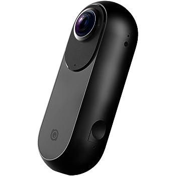 Insta360 ONE 360度 全天球 アクションカメラ, 24MP (7K) 写真 4Kビデオ 超広角 魚眼 レンズ iPhone 6/7/8/X シリーズ 【国内正規品】