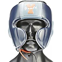 Ultimatum Boxing GenuineレザーKids ' Boxing Headgear Ultimatumユースワンサイズネイビー