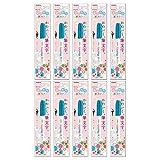 ゼブラ 筆ペン ふんわり筆カラー みずいろ 10本 B-P-WFSS7-LB