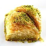 ELİT ドライ バクラヴァ・ピスタチオ・甘さ控えめ 12個 350g - ELİT Dry Baklava Pistachio (Lightly Sweetened) 12pcs 350g - ELİT Fıstıklı Kuru Baklava (Hafif Şerbetli) 12 Parça 350g