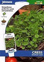 種子パッケージ:ジョンソン種子 - 絵パック - 野菜 - CressLand - 1000個の種子