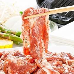 【最高級 ラム 北海道】味付き ジンギスカン 1kg 【2kg注文で】1kgオマケ【3kg注文で】2kgオマケ(BBQ)