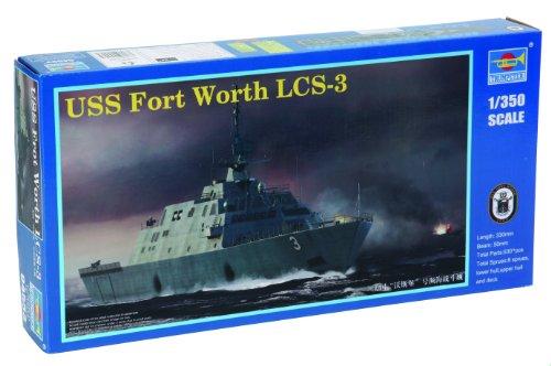 トランペッター 1/350 アメリカ海軍 LCS-3 フォート ワース / TR04553