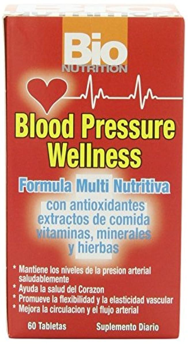 鍔先例分析的海外直送品Blood Pressure Wellness, 60 tabs by Bio Nutrition Inc
