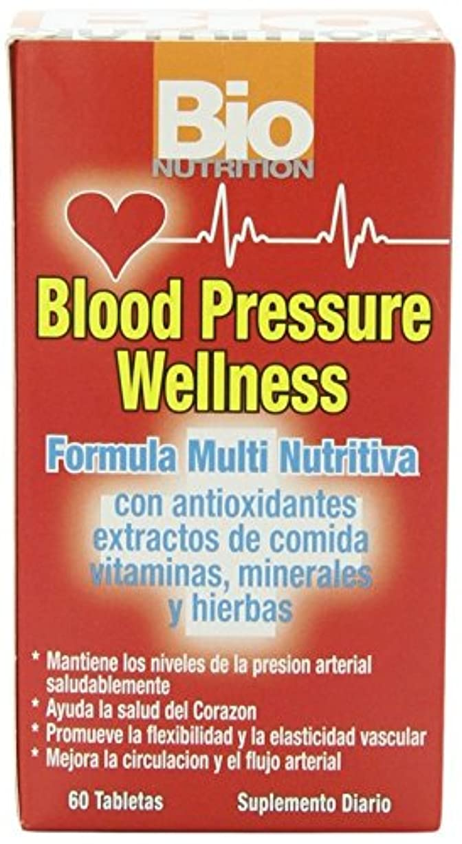 鳴り響く崩壊紳士気取りの、きざな海外直送品Blood Pressure Wellness, 60 tabs by Bio Nutrition Inc
