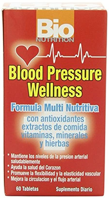 経由でメロン成熟海外直送品Blood Pressure Wellness, 60 tabs by Bio Nutrition Inc