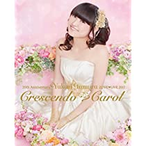 【Amazon.co.jp限定】20th Anniversary 田村ゆかり Love Live *Crescendo Carol*(オリジナルA4サイズクリアファイル付き) [Blu-ray]