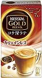 ネスカフェ ゴールドブレンド コク深ラテ カフェインレス 7P×6箱