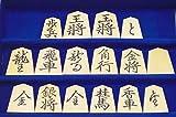 ★★将棋駒 黄楊 特上彫駒 菱湖/伏龍作 (桐平箱付) 梅商碁盤店