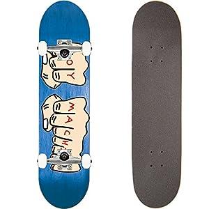 TOY MACHINE(トイマシーン) スケートボード コンプリート (完成品) FISTS 【高品質パーツ使用 ブランド純正品】 スケボー C16020 (7.75 x 31.125)