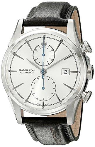 [ハミルトン] 腕時計 Spirit of Liberty(スプリット オブ リバティー) オートマチック H32416781 正規輸入品 ブラック