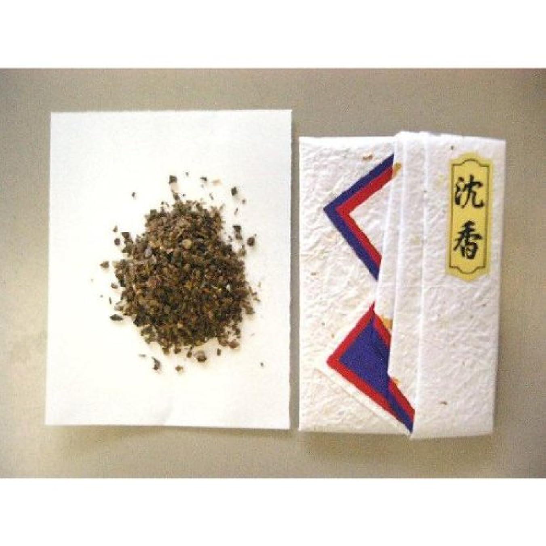 趣味干ばつスリーブインドネシア産タニ沈香(刻)10gタトー紙入り