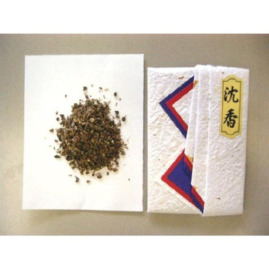 取得礼拝受粉するインドネシア産タニ沈香(刻)10gタトー紙入り