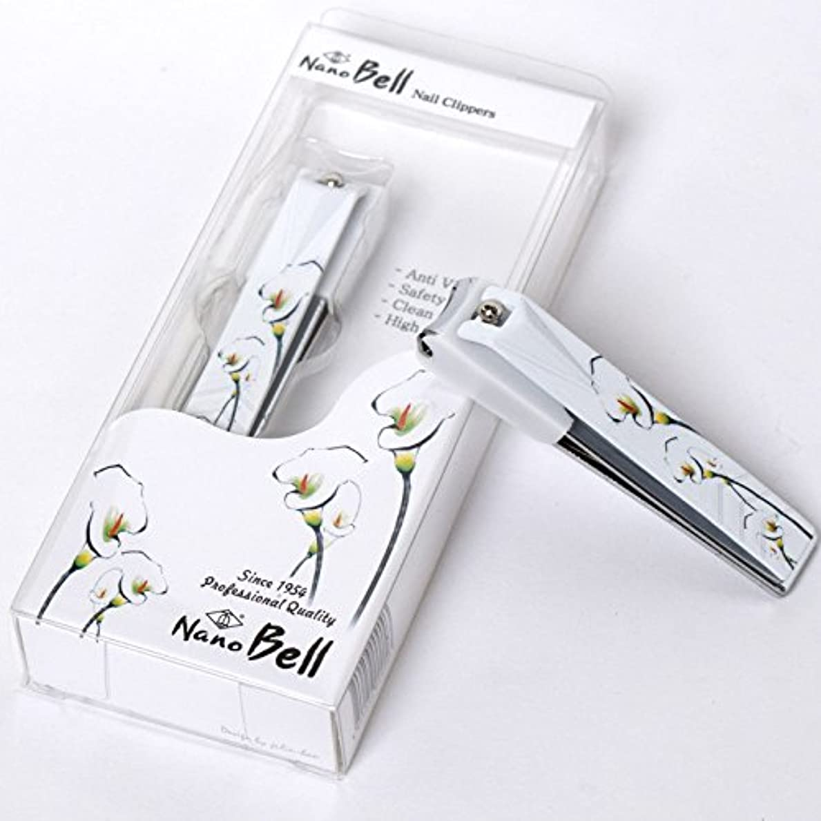 品種不公平伝染性Nano BELL Nail Clippers BN-102 ポータブルナノシルバー爪ケアトラベル爪切り感覚的なイラストPortable Nail Clippers Nail Care
