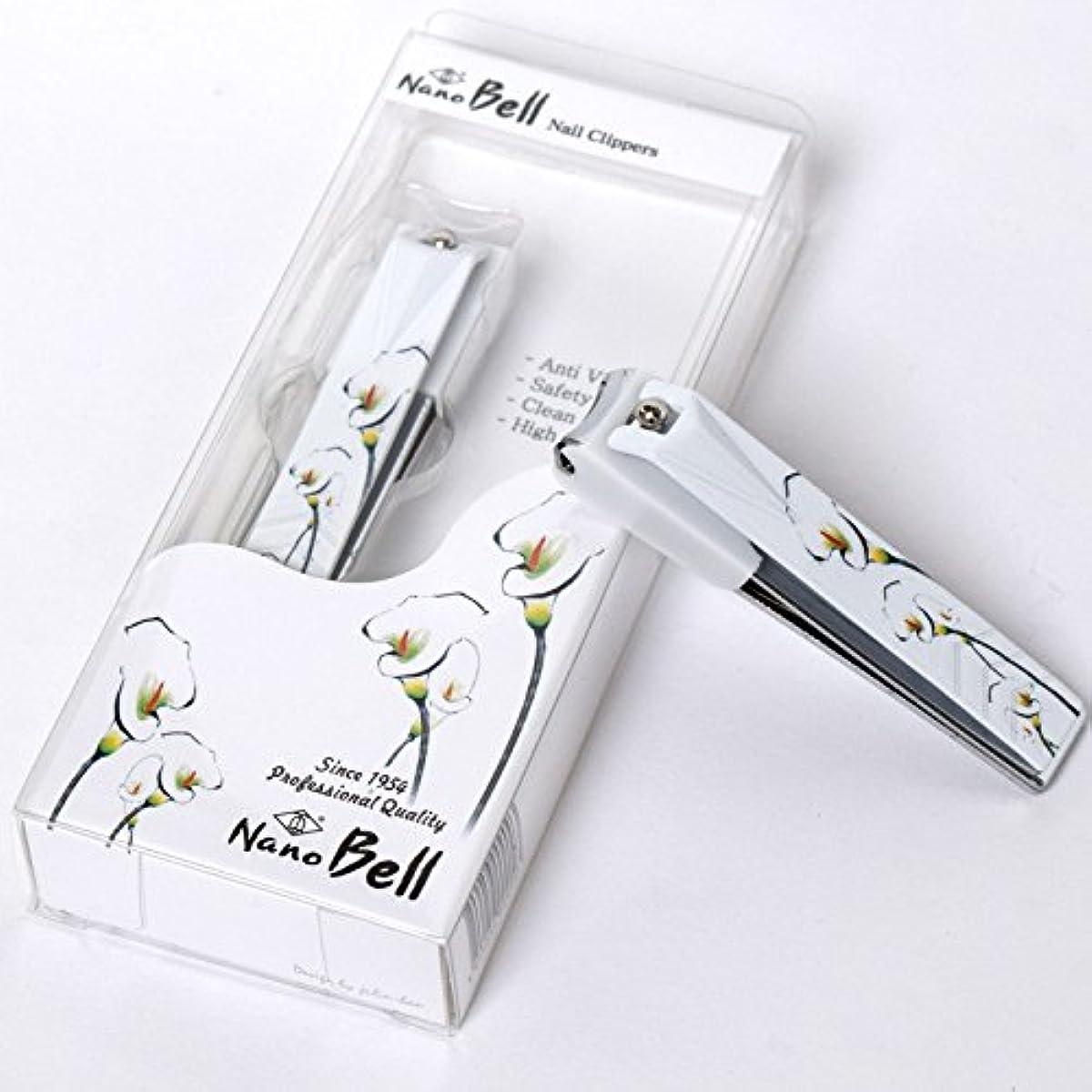 参照誠実さ強風Nano BELL Nail Clippers BN-102 ポータブルナノシルバー爪ケアトラベル爪切り感覚的なイラストPortable Nail Clippers Nail Care