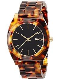 [ニクソン]NIXON 腕時計 Time Teller Acetate Tortoise / Gold NA3272513-00 レディース 【正規輸入品】