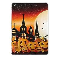 iPad Air2 スキンシール apple アップル アイパッド A1566 A1567 タブレット tablet シール ステッカー ケース 保護シール 背面 人気 単品 おしゃれ ハロウィン かぼちゃ おばけ 012614