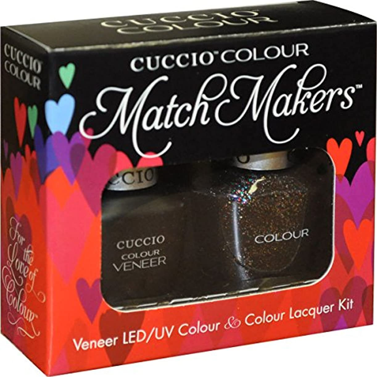 自動車マーク火山学者Cuccio MatchMakers Veneer & Lacquer - Count Me In! - 0.43oz / 13ml Each