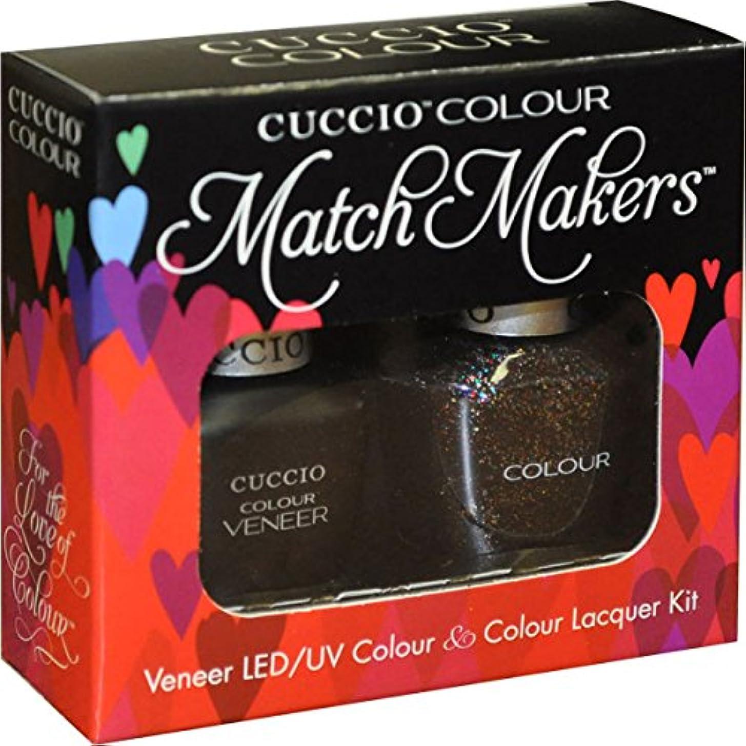 ほのか国旗歌うCuccio MatchMakers Veneer & Lacquer - Count Me In! - 0.43oz / 13ml Each