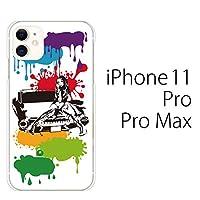 アメ車 ガール カラー/iPhone 11 Pro (5.8インチ) ケース カバー