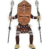 Fun World 民族衣装 ハロウィン コスチューム ダンス ハワイ ティキ像 TIKI像 原住民 ジャングル 大人 男性 [並行輸入品]
