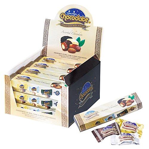 ドバイお土産 アラビアンデライツ チョコデーツミニ チョコレート 12箱入り
