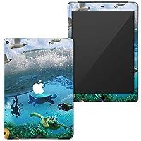 igsticker iPad 6(2018) 9.7インチ 専用スキンシール フルカバータイプ apple iPad 6 シール 第6世代 アップル アイパッド A1893 A1954 全面スキンシール フル 背面 側面 正面 液晶 ステッカー タブレット 保護シール 003379