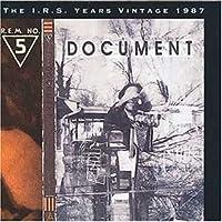 Document [Audio CD] REM