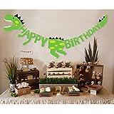 LULAA ハッピーバースデー ガーランド HAPPY BIRTHDAY 子供用お誕生日 飾り付けセット   子供用誕生日 パーティー 飾り デコレーション  インテリア  恐竜のデザイン 可愛い