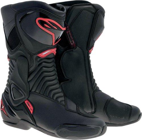 alpinestars(アルパインスターズ) バイクブーツ S-MX 6 BOOT BLACK RED 41(26.0cm)