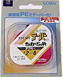 ゴーセン(GOSEN) ライン テクミーPEテーパー 力糸 13m×1本継 赤 2号~~6号 GT-480R~