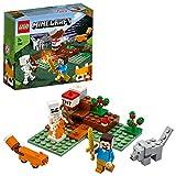 LEGO Minecraft 21162 The Taiga Adventure Building Kit (74 Pieces)