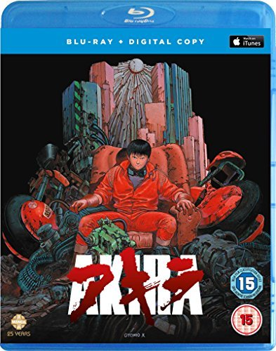 AKIRA ブルーレイ + Digital Copy BOX (124分) アキラ 大友克洋 アニメ [Blu-ray] [Import] [PAL, リージョンB, 再生環境をご確認ください]