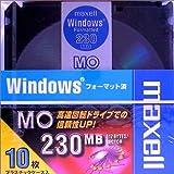 maxell データ用 3.5型MO 230MB Windowsフォーマット 10枚パック MA-M230.WIN.B10P