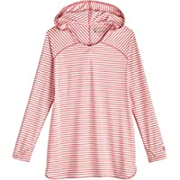 Coolibar UPF 50+ Girl's Seacoast Swim Cover-Up - Sun Protective