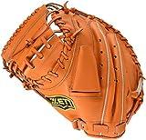 ZETT(ゼット) 野球 軟式 キャッチャー ミット デュアルキャッチ (左投げ用) BRCB34712 オレンジ