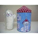 2007 ムーミン ハウス 缶 ニョロニョロ ストラップ 付