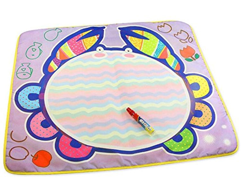 HuaQingPiJu-JP カラードローイングマット、ウォータードゥードル/ペイティングマットキッズ子供用おもちゃ