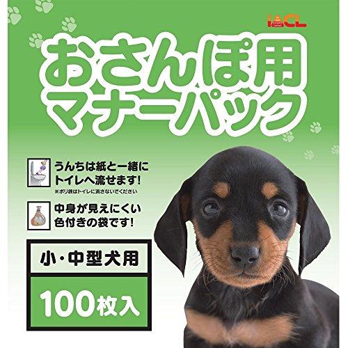 アイエーシーエル  IACL  おさんぽ用エチケットパック 100枚