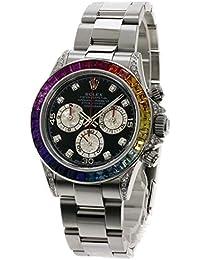 ROLEX(ロレックス) デイトナ カスタム品 アフターダイヤモンド 腕時計 ステンレス メンズ (中古)