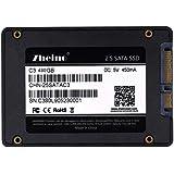 Zheino SATA SSD 480GB 内蔵SSD C3 2.5インチ 7mm厚 3D Nand 採用 SATA3 6Gb/s