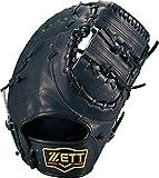 ゼット(ZETT) 硬式野球 プロステイタス ファーストミット ナイトブラック(1900N) 右投げ用 日本製 BPROFM330