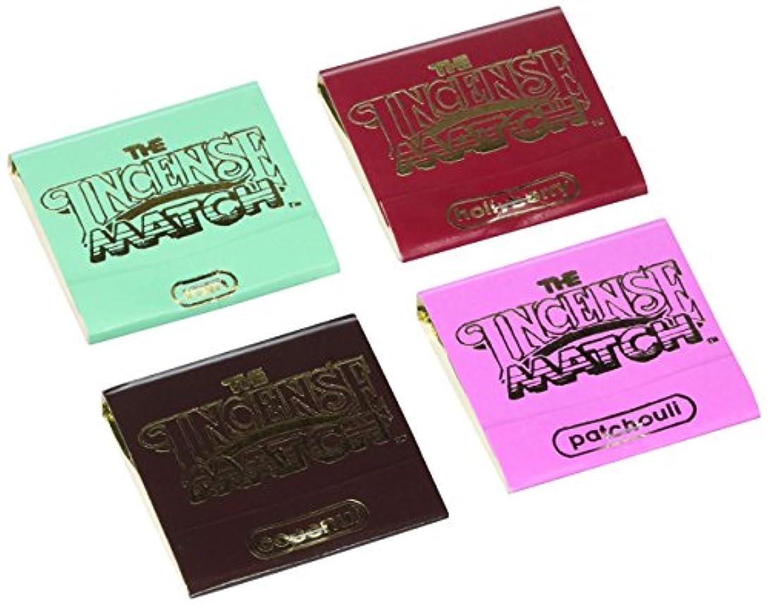 サークルローラーパーティションThe Incense Match Assorted 4 Pack by The Incense Match