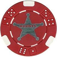 10テキサスHoldem Bounty Tournament Poker Casino Chips