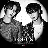 ジャストゥ ガッセブン - FOCUS [B ver.] 1CD+84p Photobook+1On Pack Lyrics Poster+1Photocard+1Special Photocard+Pre-Order Benefi..