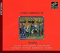 CODEX CHANTILLY 3