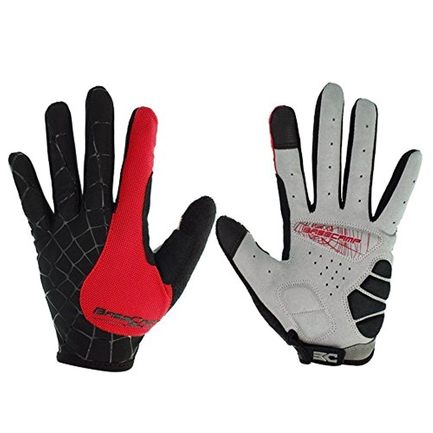 嫉妬欲望刺激するマウンテンバイクの手袋 自転車の手袋 クモの巣 フルフィンガータッチスクリーン、アウトドアスポーツの手袋 メンズ/レディース手袋を働きます
