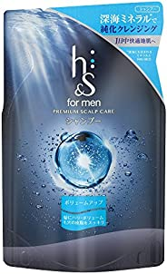 h & s for Men Volumizing Shampoo, Refill P