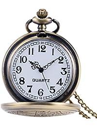 医者はアンティーク調ペンダント時計ネックレス